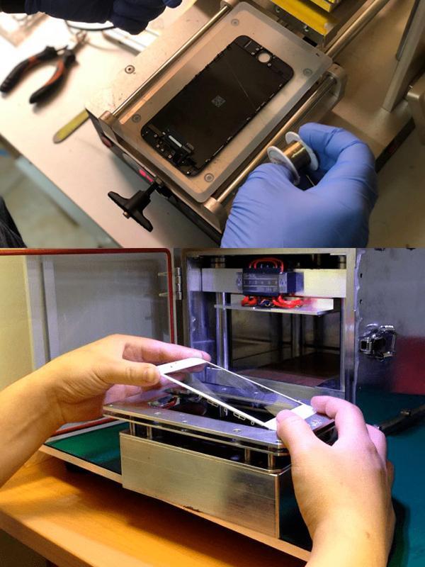 Оборудование для замены стекла дисплея iPhone